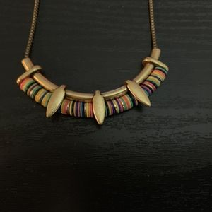 Stella & Dot Jewelry - Stella & Dot Wanderer Multicolor Gold Necklace